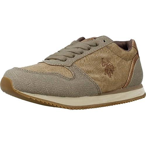 Zapatillas para niño, Color marrón, Marca POLO, Modelo Zapatillas ...