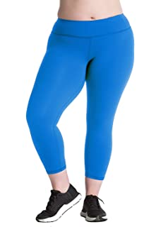 b9dcd01c08 Plus Size Capri Leggings Sale - Premium Quality Women's Compression Yoga  Pants for The Curvy Girl