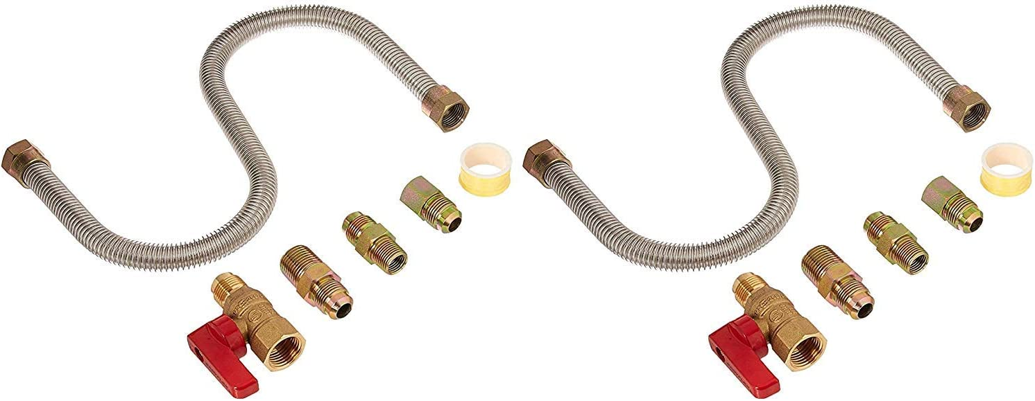 """Heater F271239 /""""One-Stop/"""" Universal Gas Appliance Hook-up Kit Mr"""