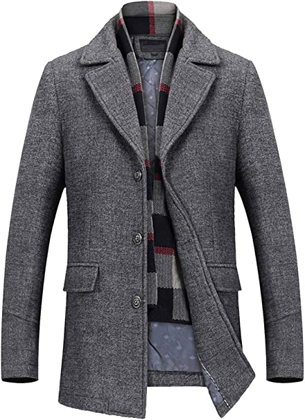 herren winter business jacke