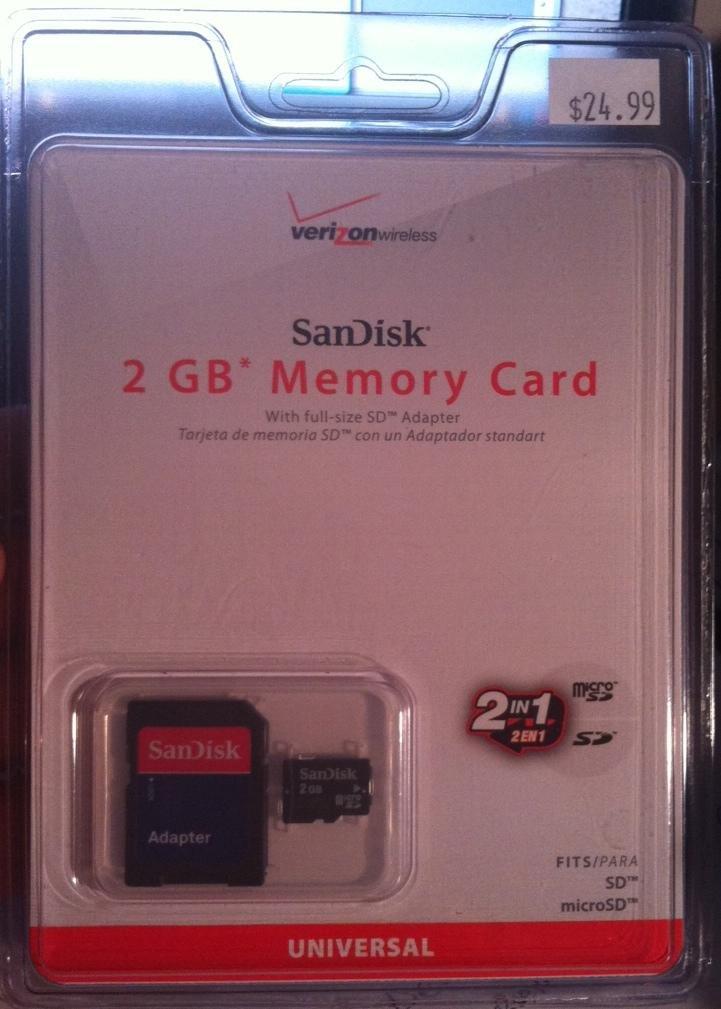 Amazon.com: Sandisk Micro SD 2 GB (SDSDQ-2048-V10M, US ...