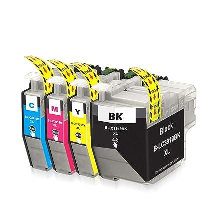 Cartucho de tinta compatible LC3919XL, para MFC-J3930DW 3530DW ...