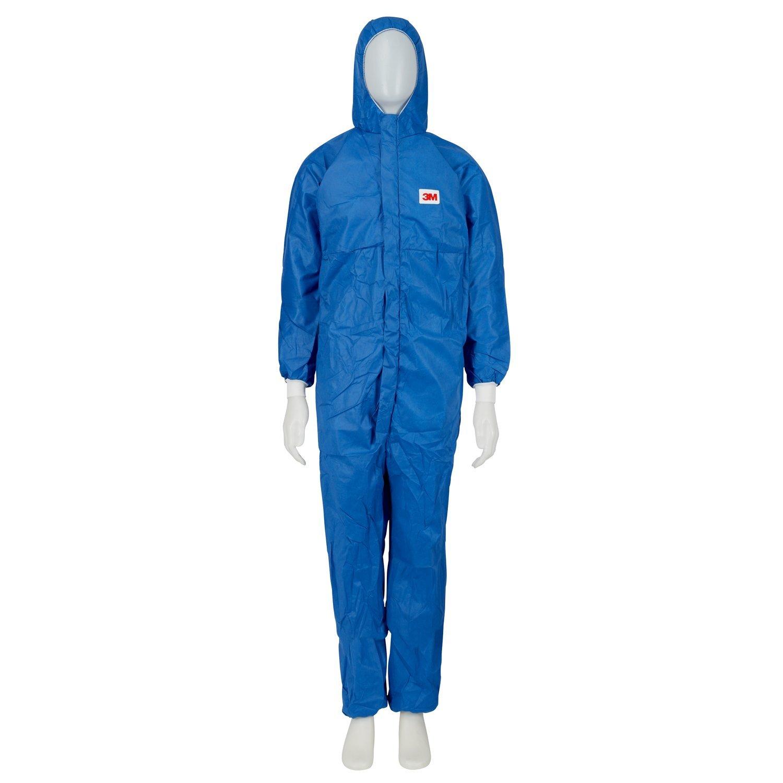 3M Traje protector talla L, 1 pieza, azul, 4532 + BL