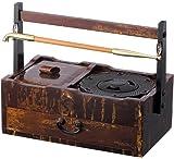 柘製作所(tsuge) 小粋 キセル 6種(クローム,ゴールド,ブラック,レッド,竹ゴールド,竹クローム) 煙管 きせる