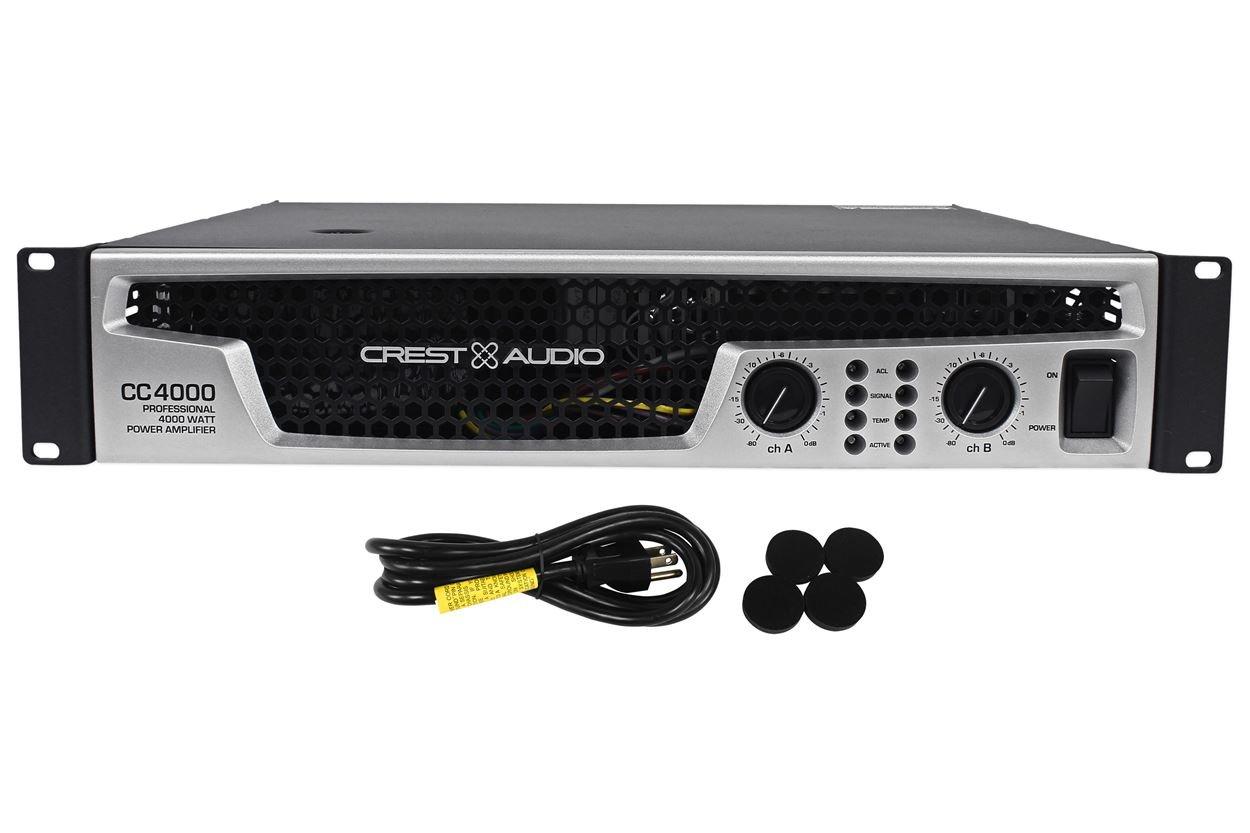 CREST CC4000 Amp 800W x 2, Dual Fans