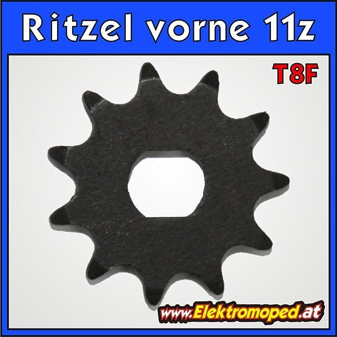 Freakyscooter T8f 11z Ritzel Vorne 11z Für T8f Dicke Kette Sport Freizeit