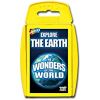 Winning Moves Australia Top Trumps Card Game - Wonders of the World