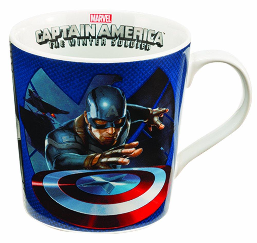 Marvel Captain Marvel 12 Oz Ceramic Mug Vandor 26661 Accessory Consumer Accessories