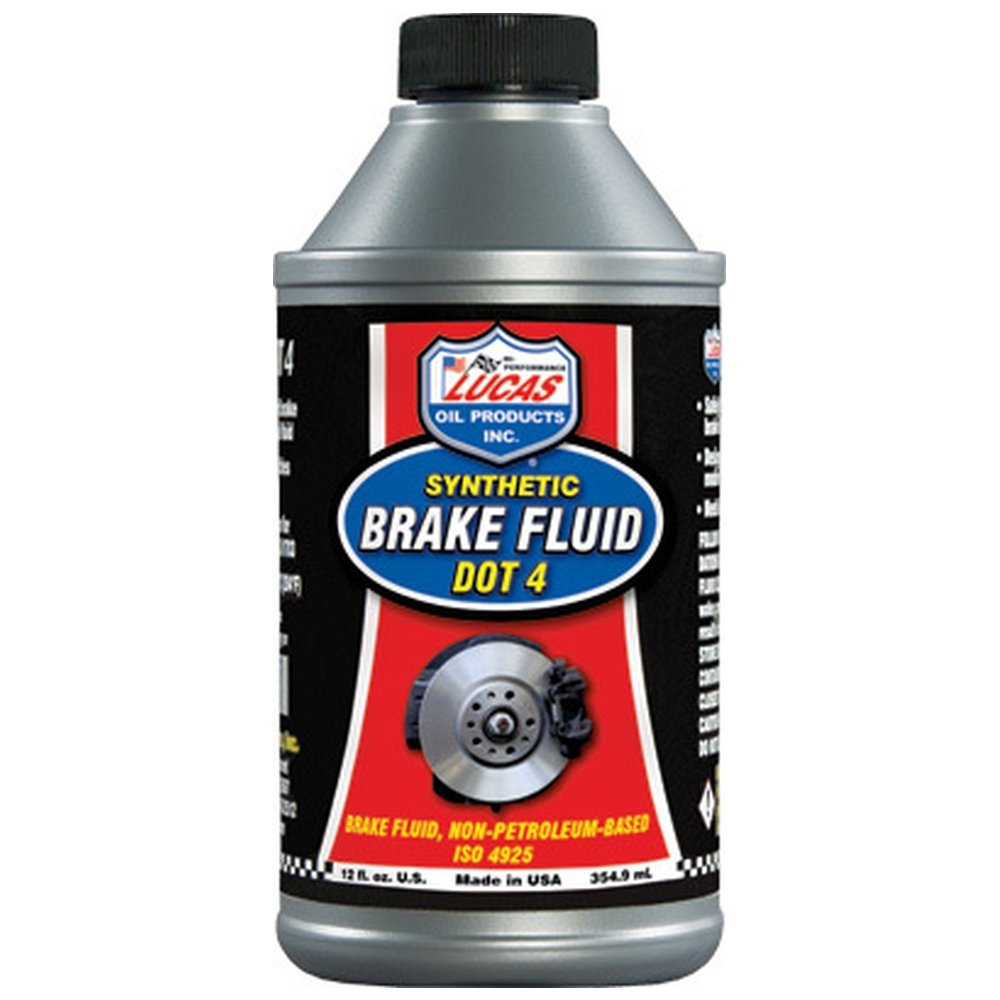 Lucas Oil 10827 Brake Fluid - 12 oz. (4)