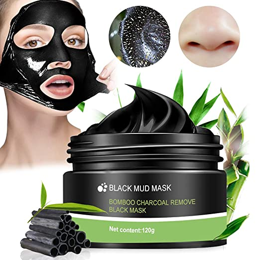 Peel off Maske,Black Mask,Mitesser Maske,Bambus Holzkohle Blackhead Maske,Anti mitesser maske und Porenreinige,Tiefenreinigung Black face mask 120g