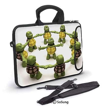 Amazon.com: 12 inch Laptop Case,Ninja Turtles Dancing ...
