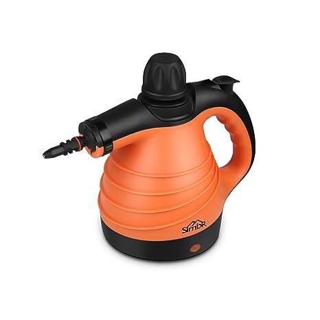 SIMBR Limpiador a Vapor de Mano Vaporeta Portátil y Manual de Alta Presión, 1050W con