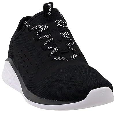 36796ff5ea36 ASICS Women s FUZETORA Running Shoe Black Black White 5 ...