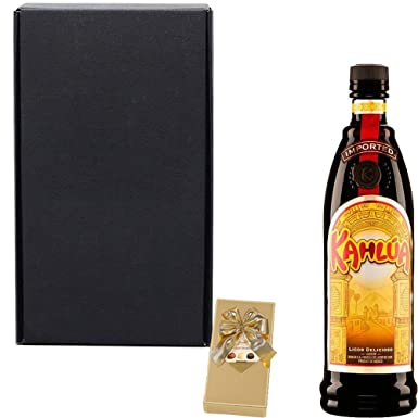 Kahlua Coffee Liqueur Gift Set With Handcrafted Happy Birthday Gifts2Drink Tag: Amazon.co.uk: Grocery