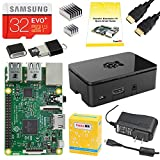 PC Hardware : CanaKit Raspberry Pi 3 Complete Starter Kit - Includes 32 GB Samsung EVO+