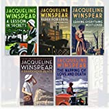 img - for Maisie Dobbs Mystery Series Jacqueline Winspear Collection 5 Books Bundle (A Dangerous Place, Mapping of Love and Death, Leaving Everything Most Loved, Lesson in Secrets, Elegy for Eddie) book / textbook / text book