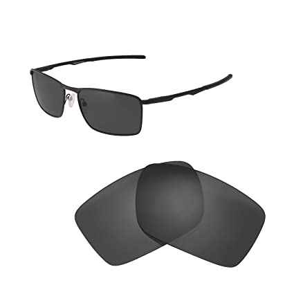 7b05996be79 Walleva Replacement Lenses for Oakley Conductor 6 Sunglasses - Multiple  Options Available (Black - Polarized