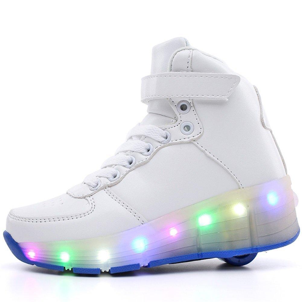Jedi fight back LED Light Up Sneaker Kids Roller Skates Wheel Luminous Shoes Boys Girls Athletic
