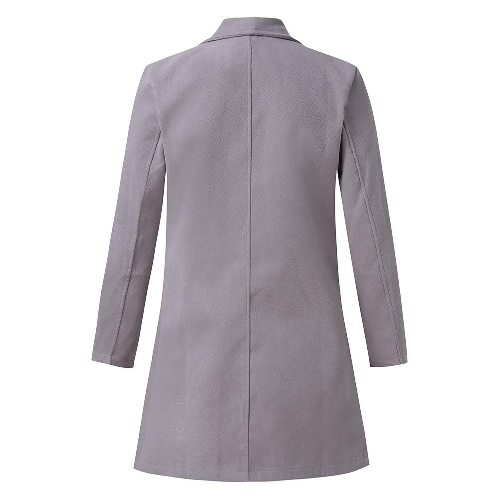 TAGGMY Jackets for Men Winter Warm Casual Slim Fit Standing Collar Plus SizeTrench Coat Long Sleeve Big and Tall Outwear