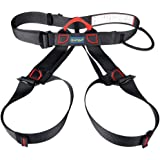 Harness, iTECHOR Multipurpose Outdoor Half-body Adjustable Outdoor Mountain Climbing Safety Belt Harness Equipment