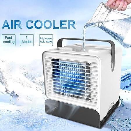 Air Cooler USB Portable Air Conditioner Desktop Mini Fan ...