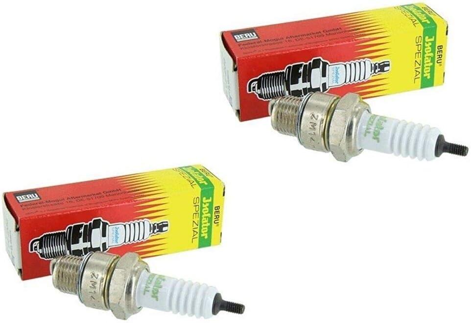 2x Beru Zündkerze Isolator 225 M14 Für Mz Awo Rt125 Bk350 Auto