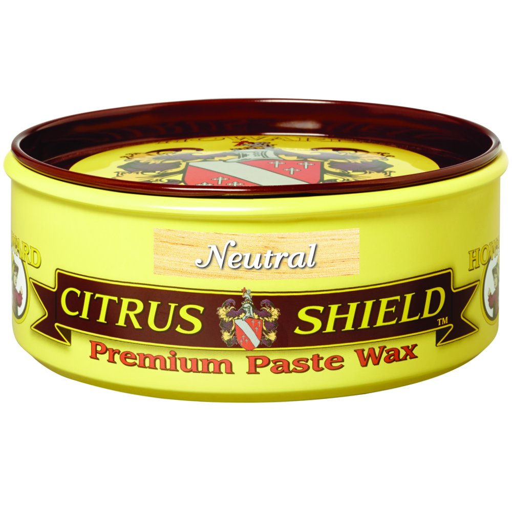 Howard CS0014 Citrus Shield Paste Wax, 11-Ounces Neutral by Howard Products