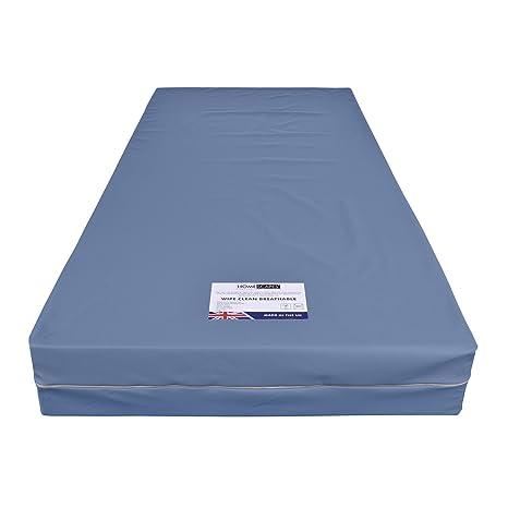Homescapes Limpiar con Revestimiento de PU Transpirable de Espuma de colchón Impermeable (200 mm de