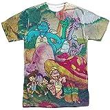 DRAGON TALES Mushroom Meadow Mens Sublimation Shirt