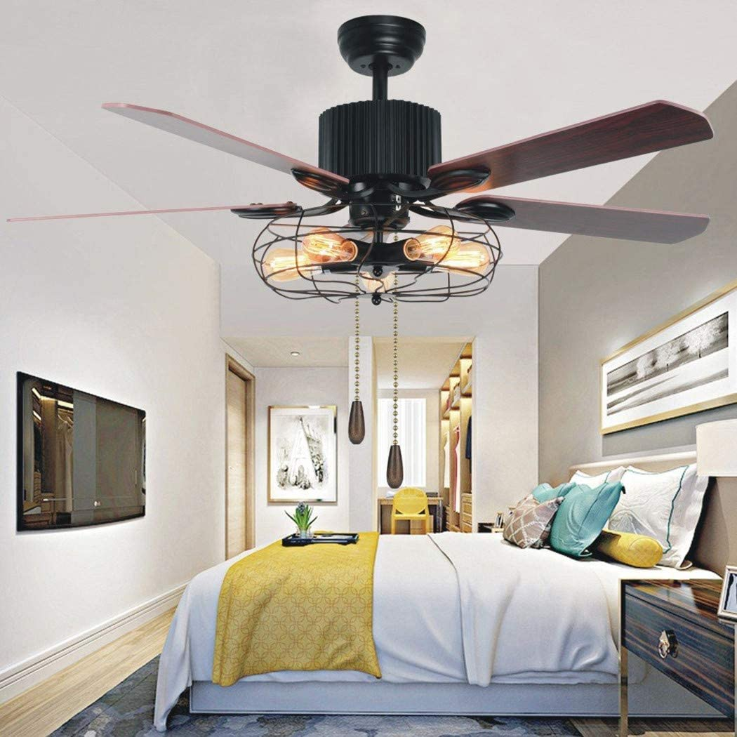 Ceiling Fan Switch Zing Ear ZE-109 Pull Chain Switch With White Wooden Pendant Pull chain set,ON-OFF Pull Chain Lamp Switch for Ceiling Fan Lights Nickel