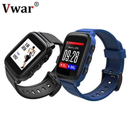Amazon.com: Vwar SMA Q2 IP67 Waterproof Smartwatch Bluetooth ...