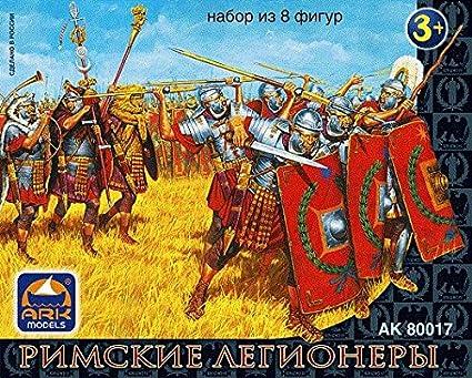 ARK Models AK80017 Roman legionaries,set of 8 figures in 1:32