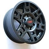 """TOYOTA GENUINE PTR20-35110-BK Black Wheel 4RUNNER SE17 Flt 17"""" TRD PRO RIMS"""