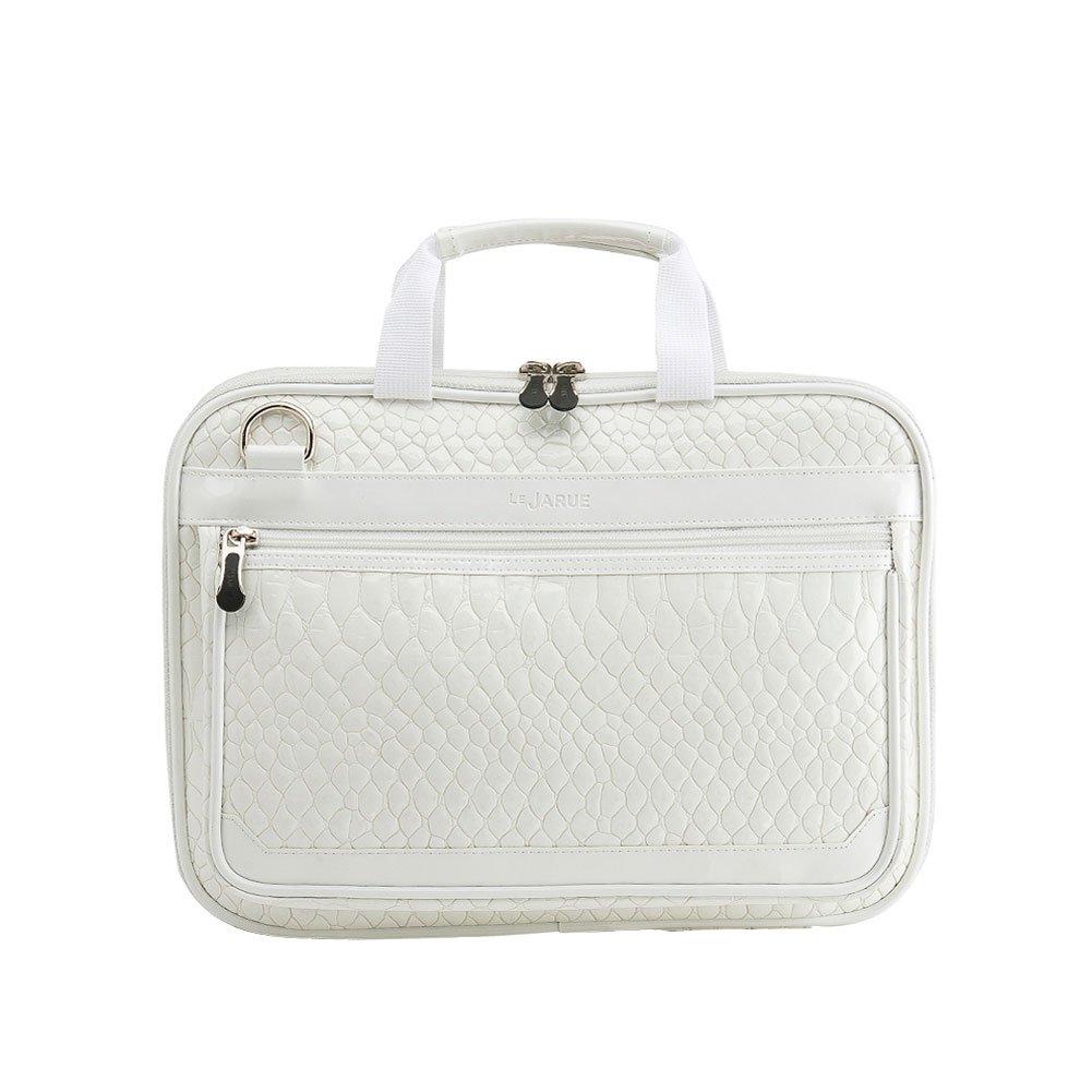 Amazon.com  Lejarue Women s Embossed Crocodile 13.3-14 Inch Laptop Bag 13  Inch Macbook Air Bag - White  Computers   Accessories 8fec1829e