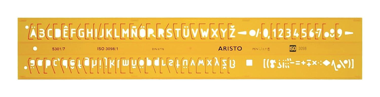 Normografo ISO 3098-1 Aristo AR5301//3