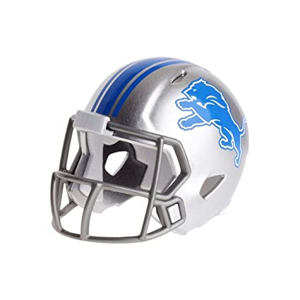 07e3188e Image Unavailable. Image not available for. Color: DETROIT LIONS NFL  Riddell Speed POCKET PRO MICRO ...
