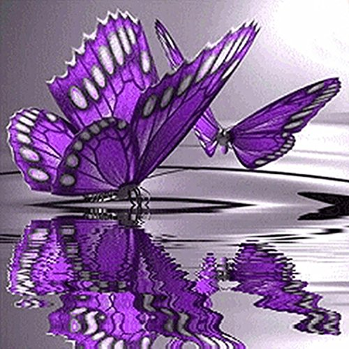 Price comparison product image Lowprofile Butterfly Flowers Diamond Embroidery 5D Diamond DIY Painting Cross Stitch Crafts