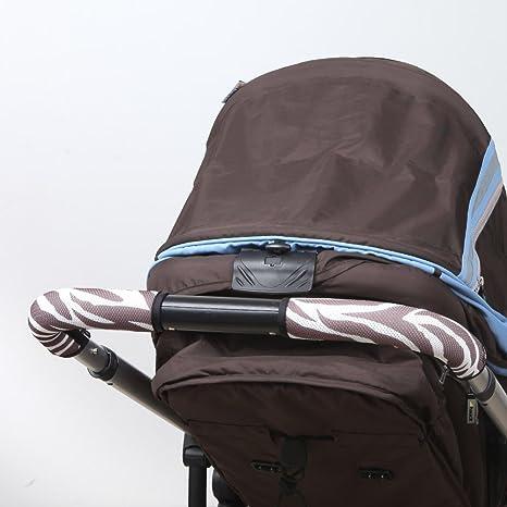 [Manito] limpiar agarre Stokke Crusi bebé carrito de bebé mango funda marrón Zebra_brown