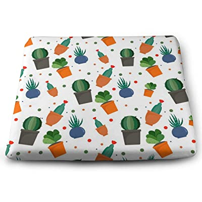 Sanghing Customized Exotic Cacti 1.18 X 15 X 13.7 in Cushion, Suitable for Home Office Dining Chair Cushion, Indoor and Outdoor Cushion.: Home & Kitchen