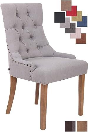 ELEGANTE: La silla de comedor es un asiento sólido para uso diario. La silla tapizada tiene un asien