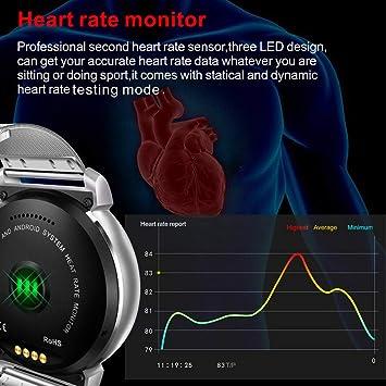 Cebbay Reloj Inteligente IPS Pantalla Redonda K88H Plus Monitor de ...