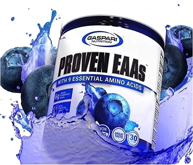 Amazon.com: Proven EAAs with 9 Essential Amino Acids, Blueberry ...