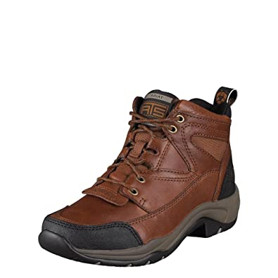 Ariat Women's Sunshine Terrain Boot Round Toe Brown 6 ...