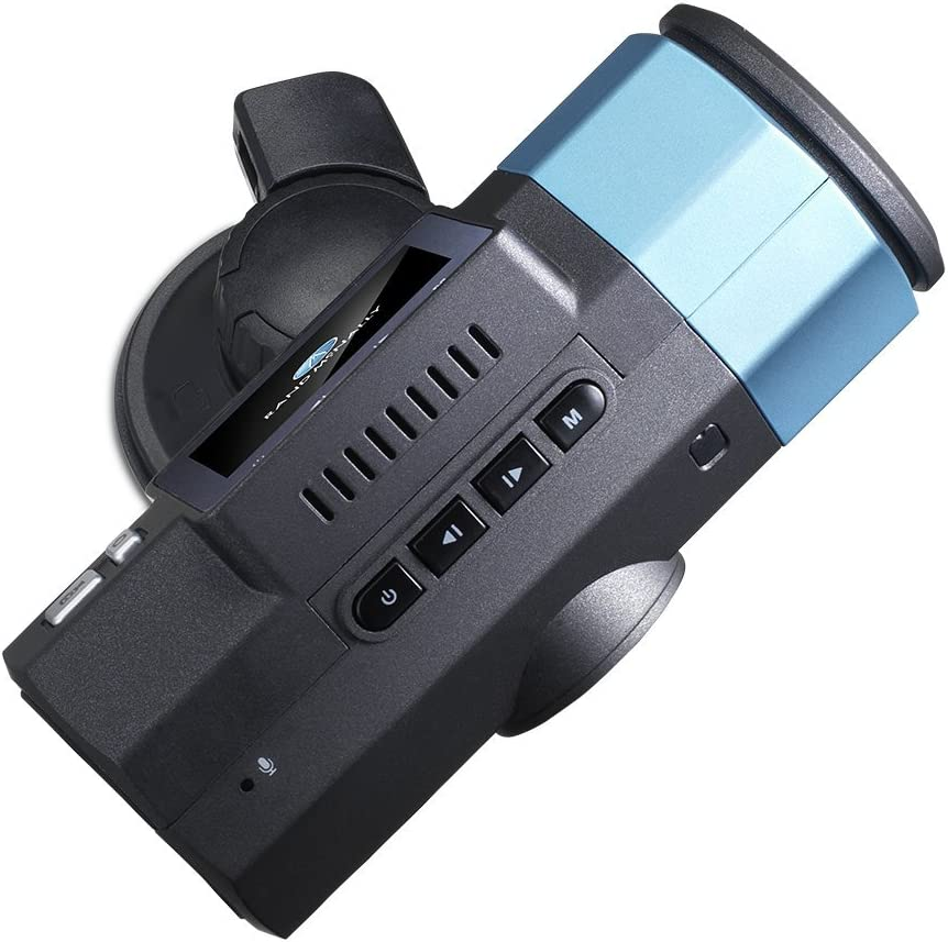 Rand McNally Dash Cam 100 Vehicle Overhead Video Black