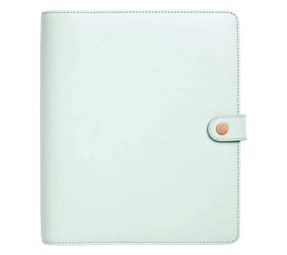 kikki.K Leather Personal Planner Large: Mint