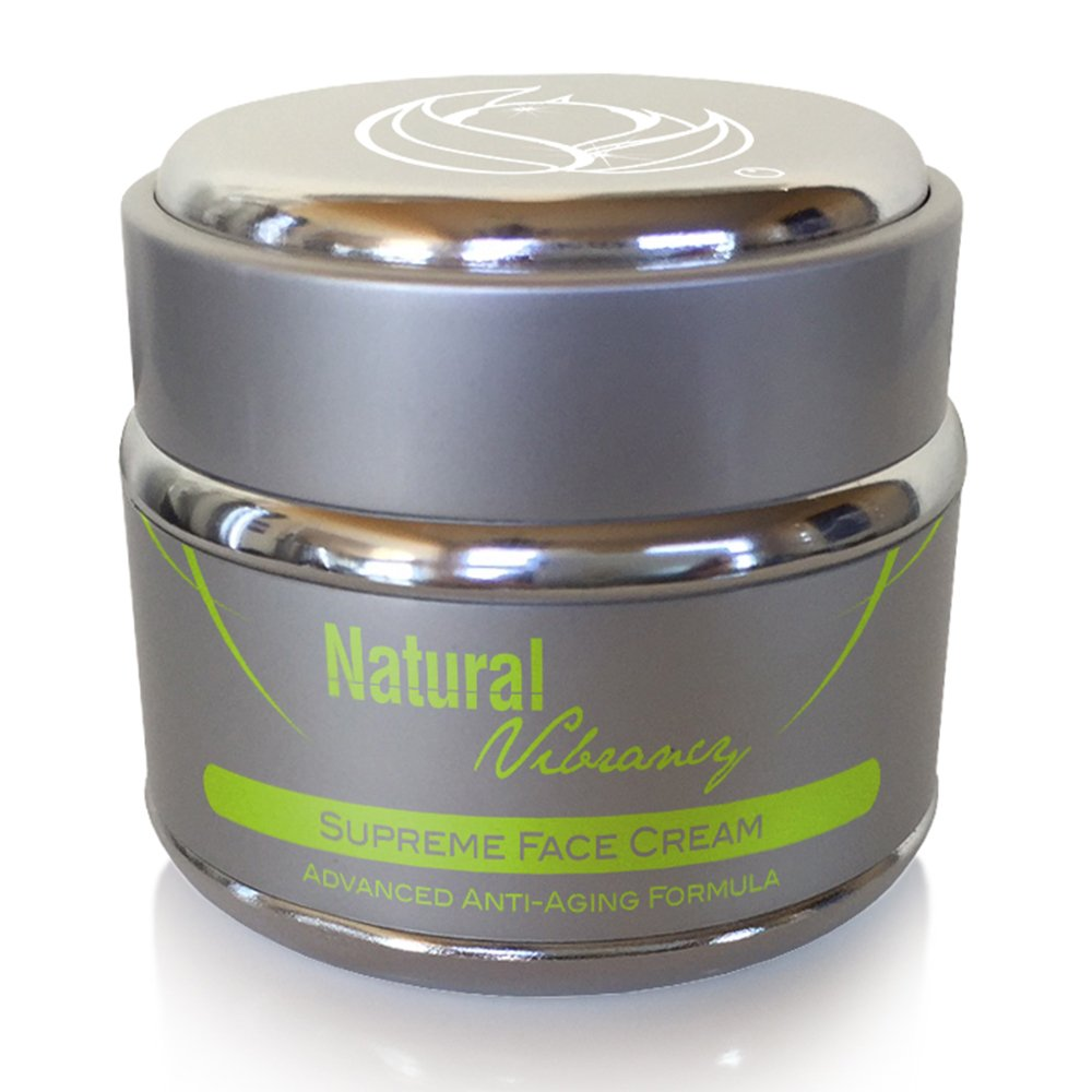Natural Vibrancy Face Cream with Collagen Increasing Peptides - Anti Aging Wrinkle & Skin Tightening Night Cream - Fragrance-free Deep Facial Moisturizer For Women & Men with Mature or Sensitive Skin