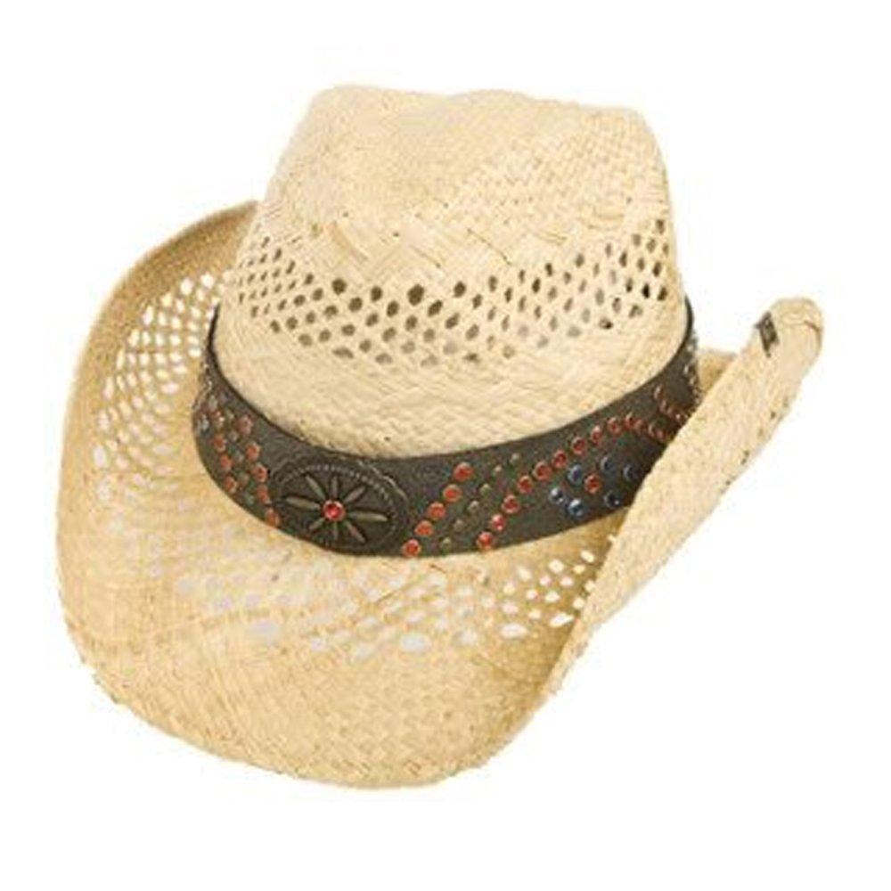 One Size Counterfeit Straw Cowboy Hat