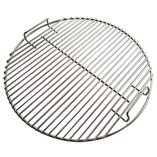 Heavy Duty Stainless Steel Grate for 18.5 Inch Grills and Smokers