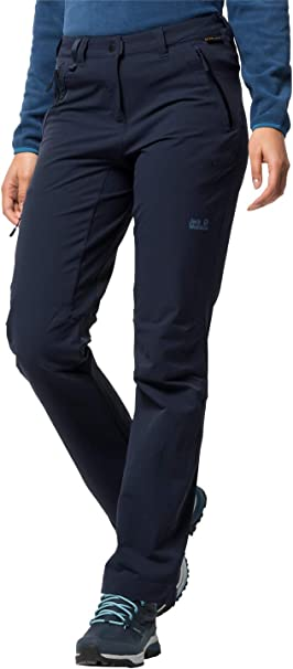 Jack Wolfskin Activate Sky Softshellhose Damen midnight blue
