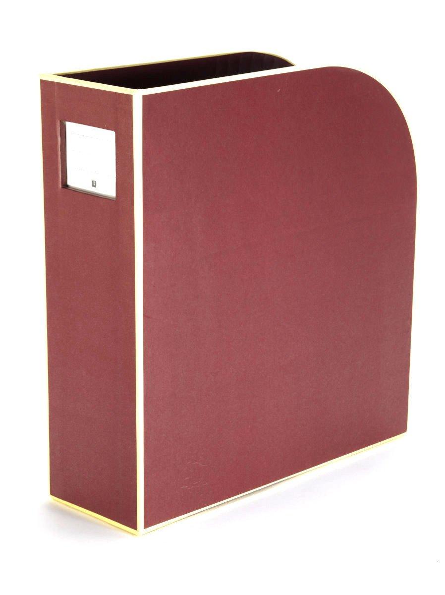 | Zeitschriften-Sammler und Dokumenten-Ordner rot Stehsammler A4 red Semikolon F/ür A4 Format: 10,5 /× 26,0 /× 31,0 cm 352733